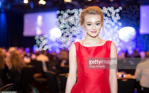 Savannah attends 2nd annual Young Entertainer Awards