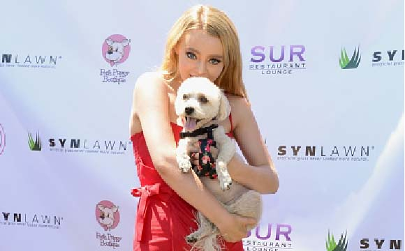 Savannah attends the 2nd Annual World Dog Day