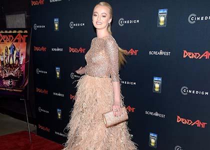 Savannah Kennick attends the Los Angeles premiere screening of 'Dead Ant'